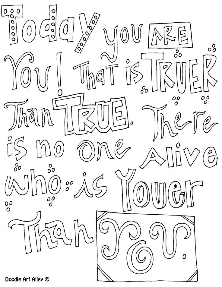 Quotes coloring pages cute quotesgram for Printable coloring pages quotes