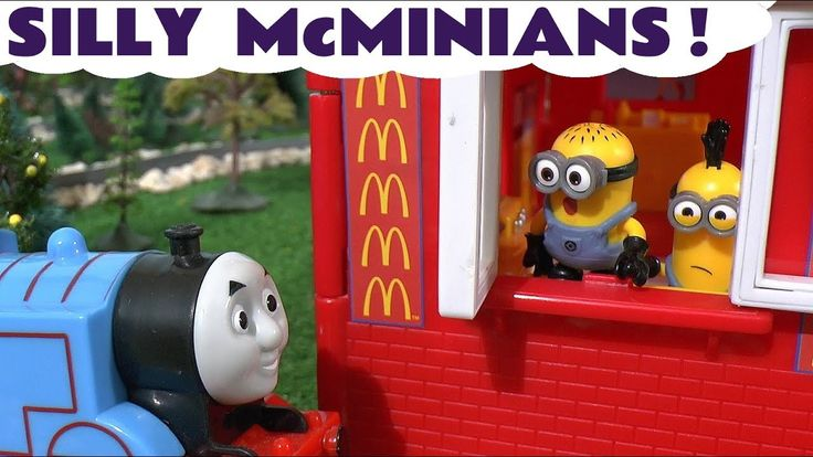 Despicable Me 3 Minions at McDonalds Drive Thru with Thomas and Friends ...