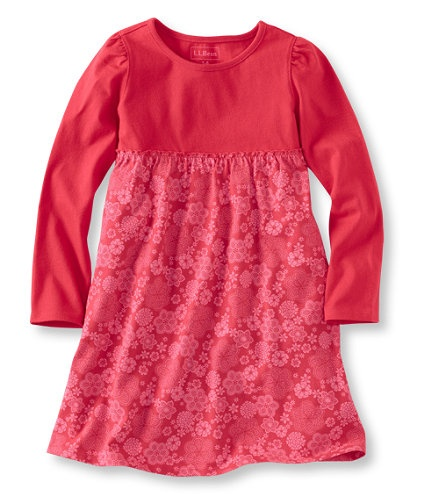 Unshrinkable Knit Dress, Long-Sleeve: Skirts and Dresses | Free Shipping at L.L.Bean
