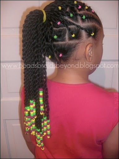 BEADS BRAIDS & BEYOND : HAIR BEADS / HAIR BOWS / LITTLE GIRL HAIRSTYLES / BRAIDS / PONY TAIL / UP DO / KIDS / GIRL / HAIR / PROTECTIVE HAIRSTYLE / NATURAL HAIRSTYLE / SCALP BRAIDS
