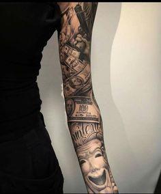 sleeve chicano tattoo