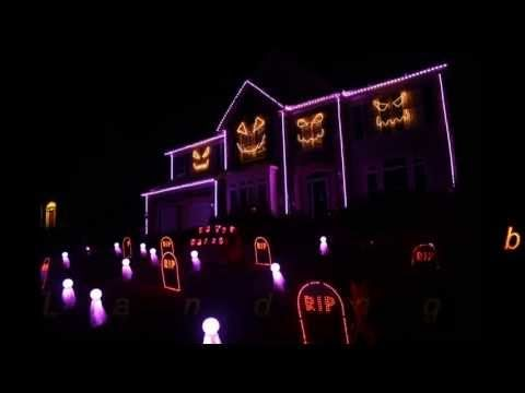 ▶ Halloween Light Show 2013 - Sail by AWOLNation (Skorge Remix) - YouTube