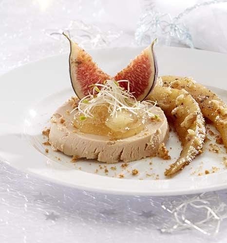 Foie gras met speculaas en peer - Colruyt Culinair !