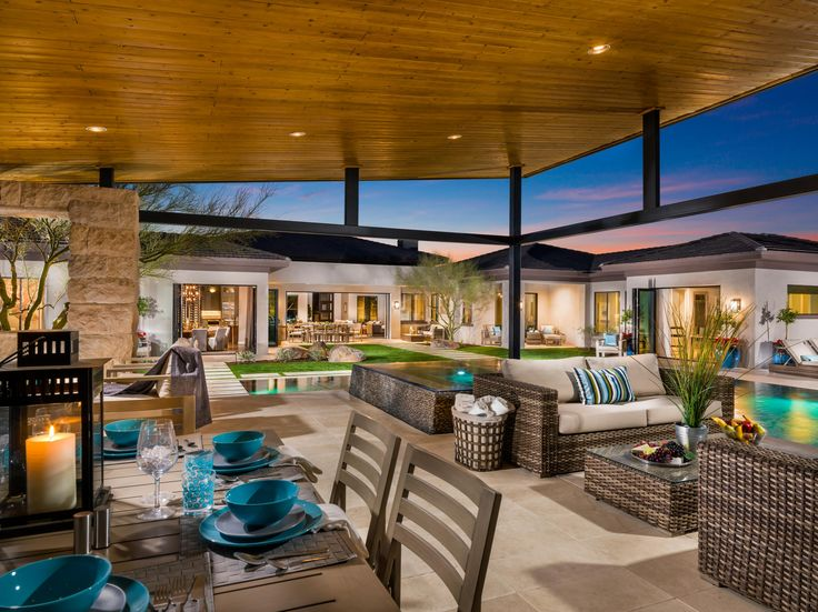Poolside Relaxation Is A Step Away With Toll Brothers Reserve At Tranquil  Trail In Arizona | Outdoor Living | Pinterest | Toll Brothers, Posh Houses  And ...