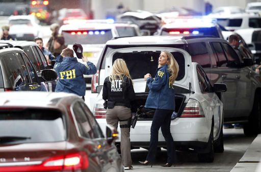FORT LAUDERDALE, Fla. (AP)(STL.News) — The Latest on Airport Shooting-Florida (all times local):    1:50 p.m.    Florida hospital officials say one of the airport shooting victims is expected to be released.    Six gunshot victims were brought to B...