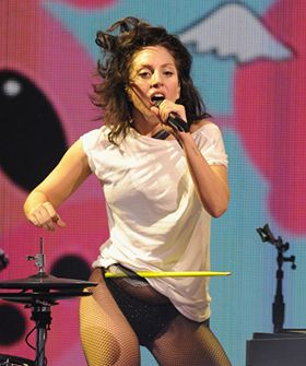 Lady Gaga's Real Hair Was The Star At The iTunes Festival #Refinery29