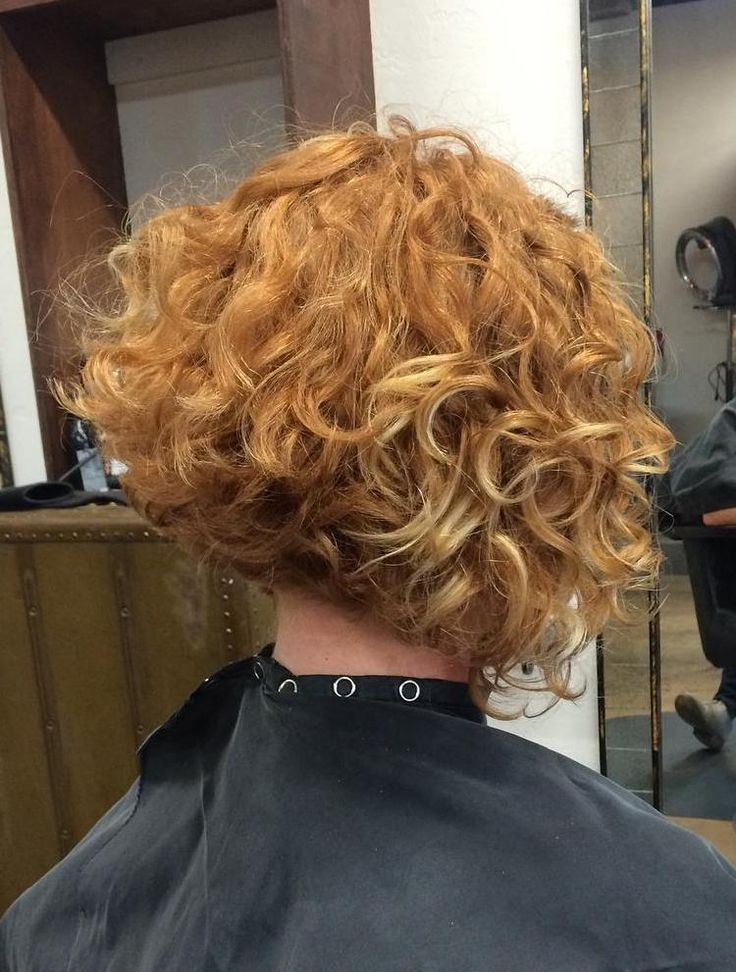Angled Bob For Curly Hair                                                                                                                                                                                 More