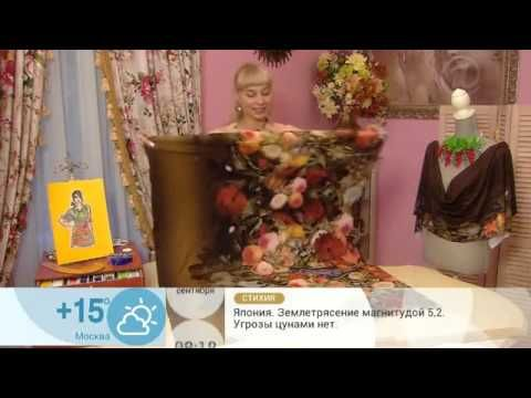 Sew a dress with a print of the hour! Videos. Discussion on LiveInternet - Russian Service Online Diaries