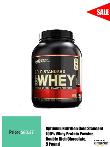 Optimum Nutrition's Gold Standard 100% Whey uses pure Whey Protein Isolates as the primary ingredient. Combined with ultra-filtered whey protein concentrate, each serving provides 24 grams of all-whey protein and 5.5 grams of naturally occurring Branched Chain Amino Acids (BCAAs) which are prized by athletes for their muscle building qualities. With more than 20 tempting flavors to choose from, ON's Gold Standard 100% Whey gives you plenty of ways to keep workout recovery interesting…