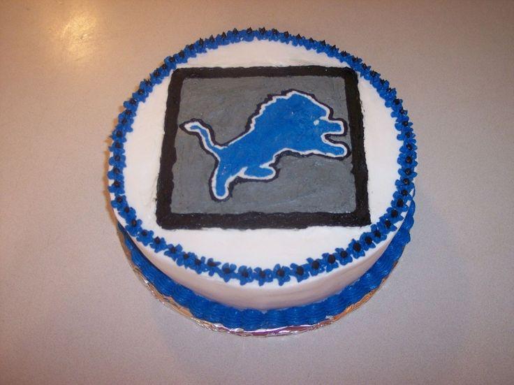 Detroit Lion Cake