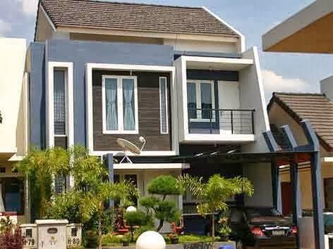 Gambar Desain Rumah Minimalis Modern | Desaindesainrumah.