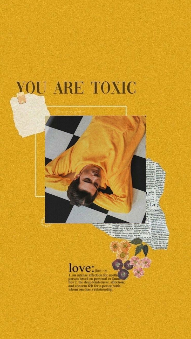 Yeah you are, we rather toxic people Follow me