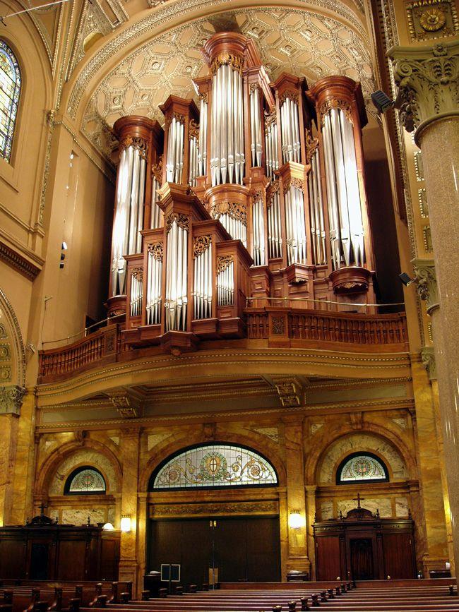 Mander Organ 1993 At The Church Of St Ignatius Loyola