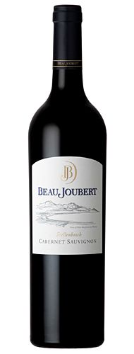 Beau Joubert Cabernet Sauvignon 2010  Smooth and delicious Beau Joubert is a picturesque wine estate situated in the Polkadraai Hills along the Stellenbosch Wine Route. Steeped in history, Beau Joubert's winemaking practices date back to 1695 when Governor of the Cape, Simon van der Stel, allocated this remarkable land, titled then as Veelverjaagt, to a Coenraed Visser.