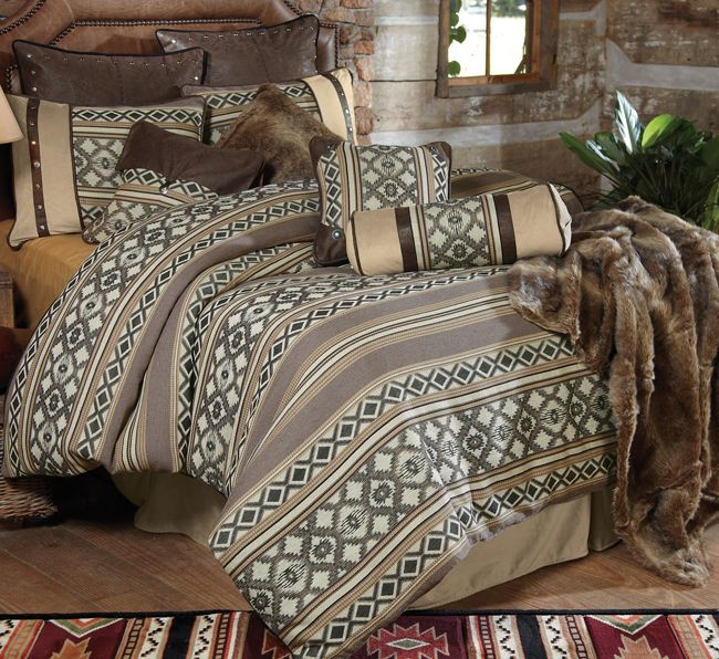 tucson bedding from lone star western decor fits perfectly with 2014 western decorating colors - Home Decor Tucson