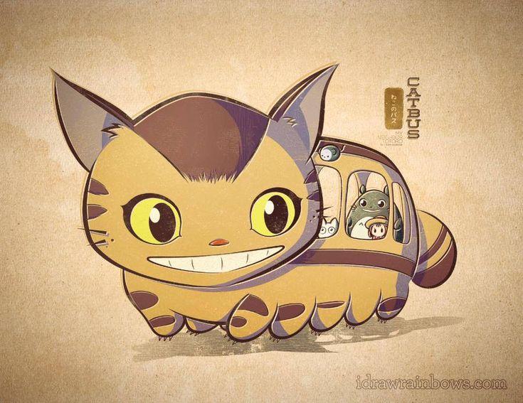 Le bus dans Totoro *-*