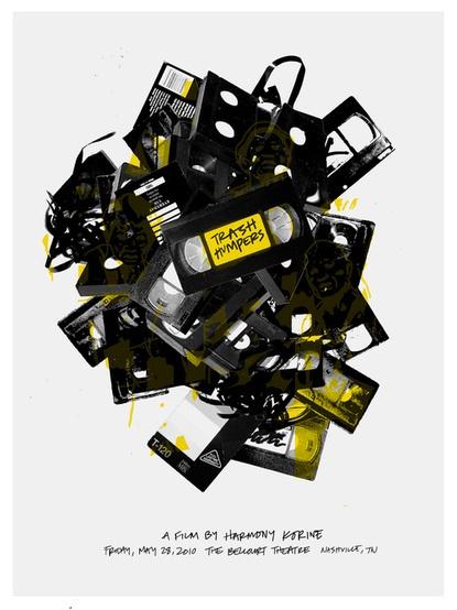 videoTheatres, Movie Posters, Picture-Black Posters, Trash Humper, Smith Nashvile, Sam Smith, Graphics Design, Design Stuff, Illustration Movie