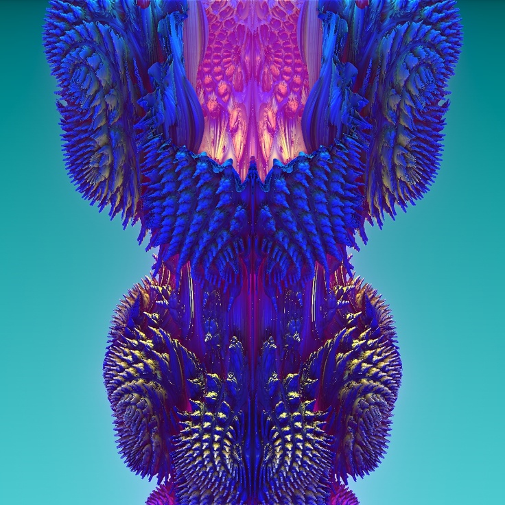 Mandelbulb 3D, 10.12.2012 (Generated by Christian Isnardi)