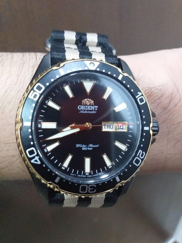Orient Kamasu Formerly Known As Mako 3 Watches Divers In 2019