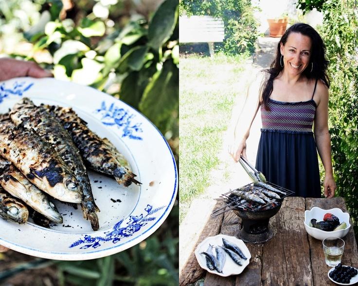 Pratos e Travessas: grilled sardines