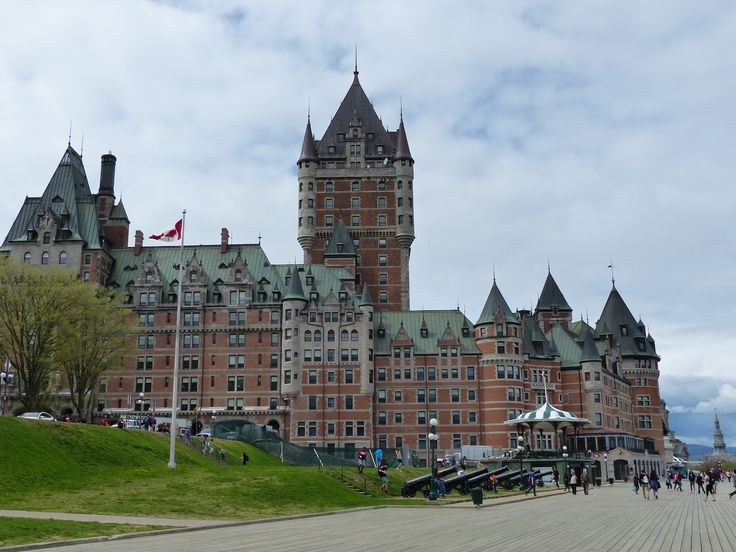 Château Frontenac - this is supposed to be a hotel