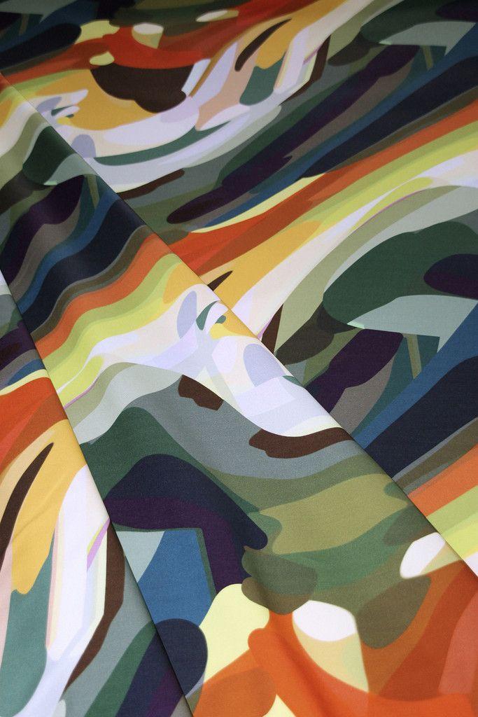 Garden Non-Geometric Cotton Fabric