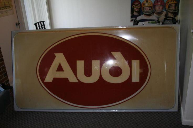 Audi dealership sign