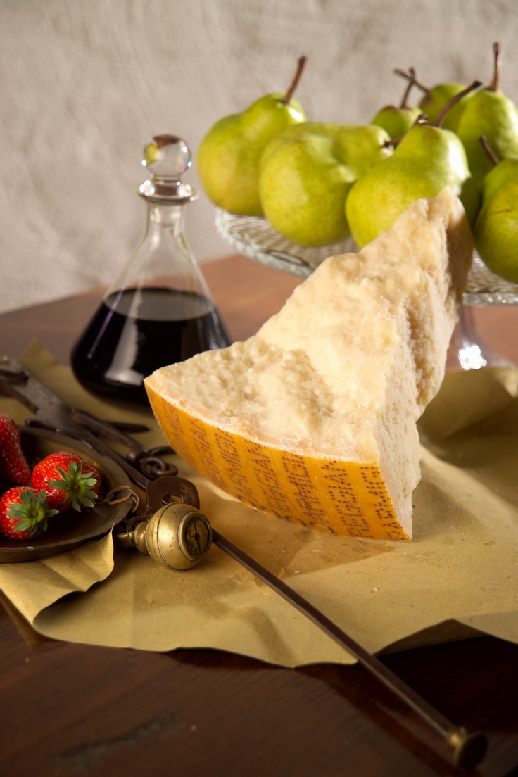 parmigiano reggiano from Oligiano and pears