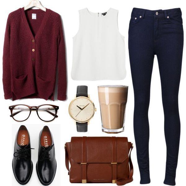 20 Casual Fall Polyvore Combinations