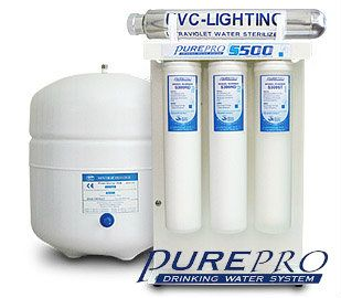 PurePro® S500-UV - S500-M reverse osmosis system uses most advanced water treatment technology . Reverse Osmosis is recognized as of the best available for producing high quality drinking. At. http://www.pureprousa.com/index.html