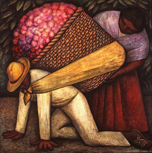 Diego Rivera The Flower Carrier | Flickr - Photo Sharing!