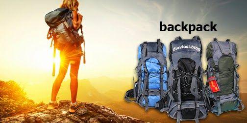 Το σακίδιο πλάτης (γνωστό και ως backpack) ανάλογα με τον τρόπο και το είδος της δραστηριότητας που θέλουμε να κάνουμε, π.χ. το ελεύθερο κάμπινγκ, τη πεζοπορία, την ορειβασία ή μία μονοήμερη εκδρομή κ.ο.κ. αποτελεί  βασικό εξοπλισμό.