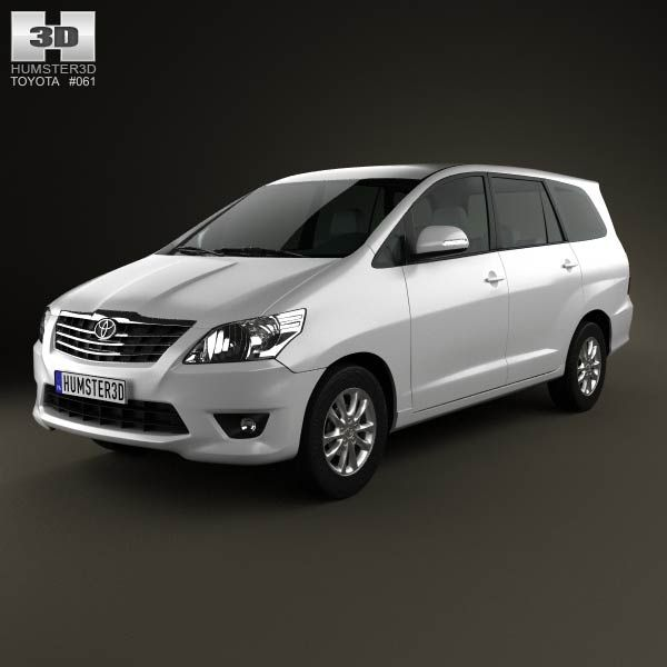 Toyota Innova 2011 3d model from humster3d.com. Price: $75