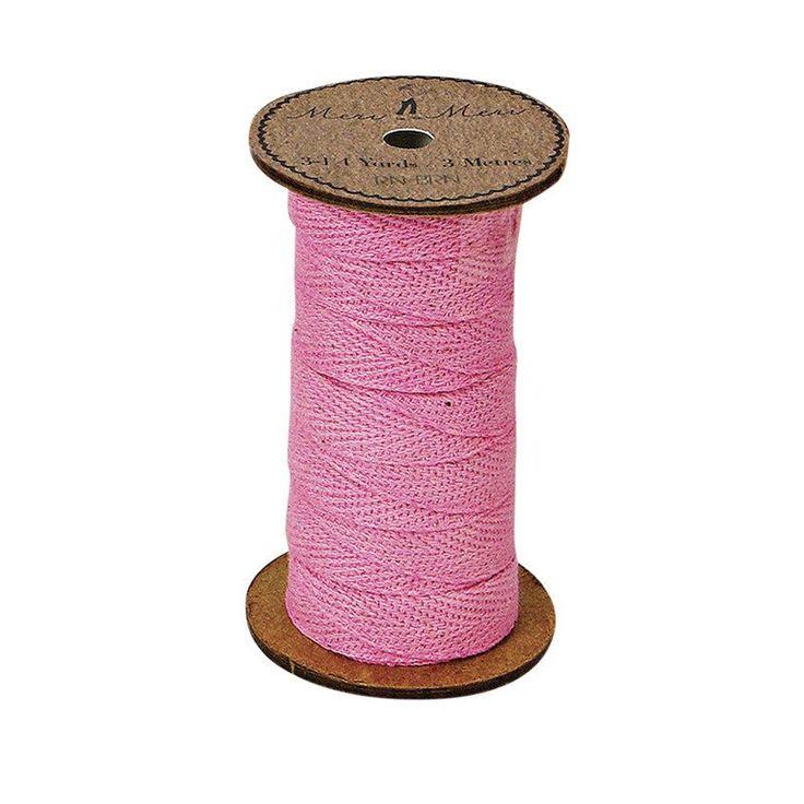 Meri Meri Alphabet Bunting - Ribbon Spool Pink -  Bunting - Meri Meri UK - Putti Fine Furnishings Toronto Canada - 1