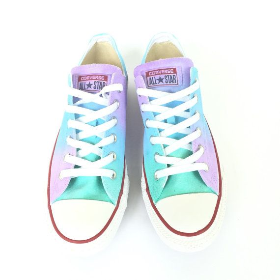 44ae966d7d7f6 The softer side of the rainbow is here in the pastel tie dyed low ...