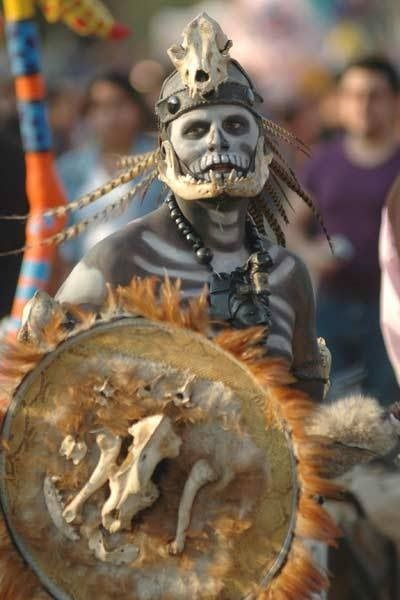 Mictlantecuhtli, the Aztec god of death - Imgur