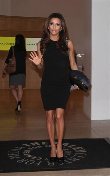 Ева лонгория в чёрном платье