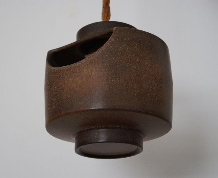 Lore Ceramics Beesel The Netherlands 1967-1981 Matt Camps B hanging planter