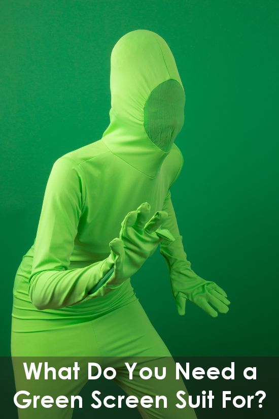 What Do You Need a Green Man Suit For? | Backdrop Express Photography Blog