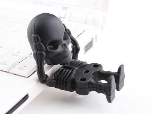 Skeleton USB Flash Drive