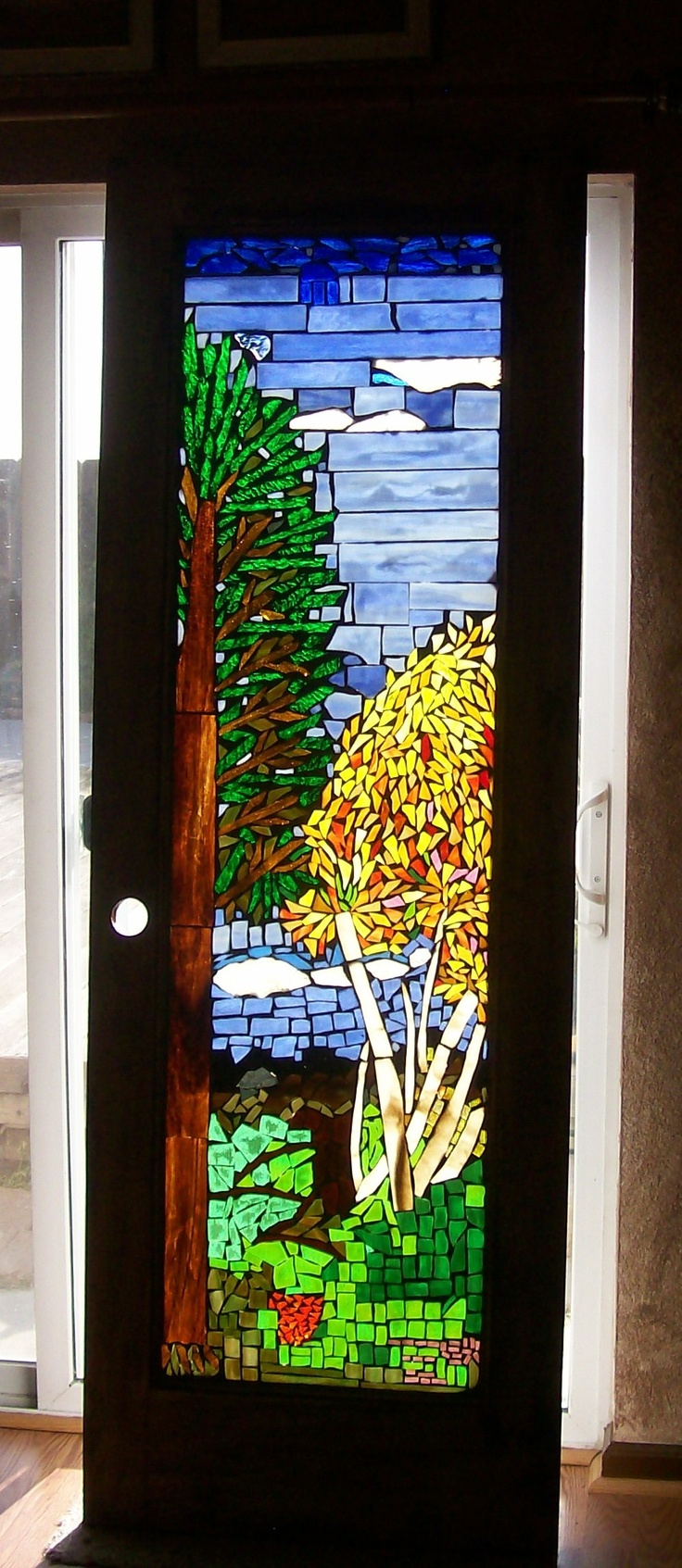 17 Best Images About Mosaic Inspiration Door And Window