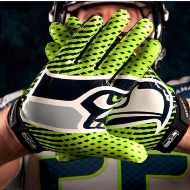 New Seattle Seahawk uniforms revealed today. :-)