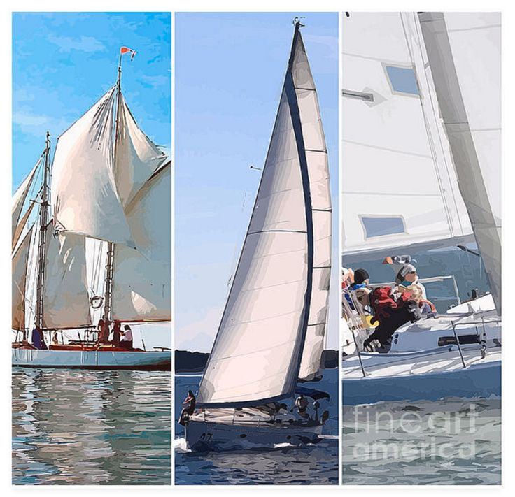 Have you every been sailing like this? It's nothing short of exhilarating! Hours of fun to treasure - especially if the wind's up a bit. I've added a mild art filter to the original photos. Triptychs have been popular for thousands of years!
