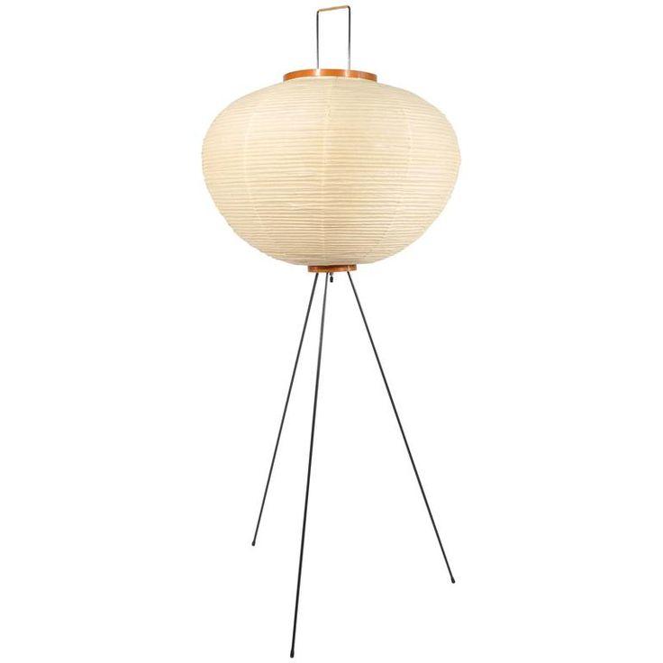Isamu Noguchi; Akari Paper Floor Lamp