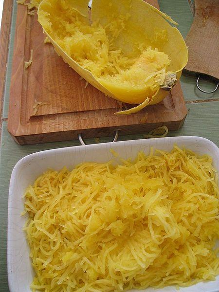 Spaghetti de calabaza