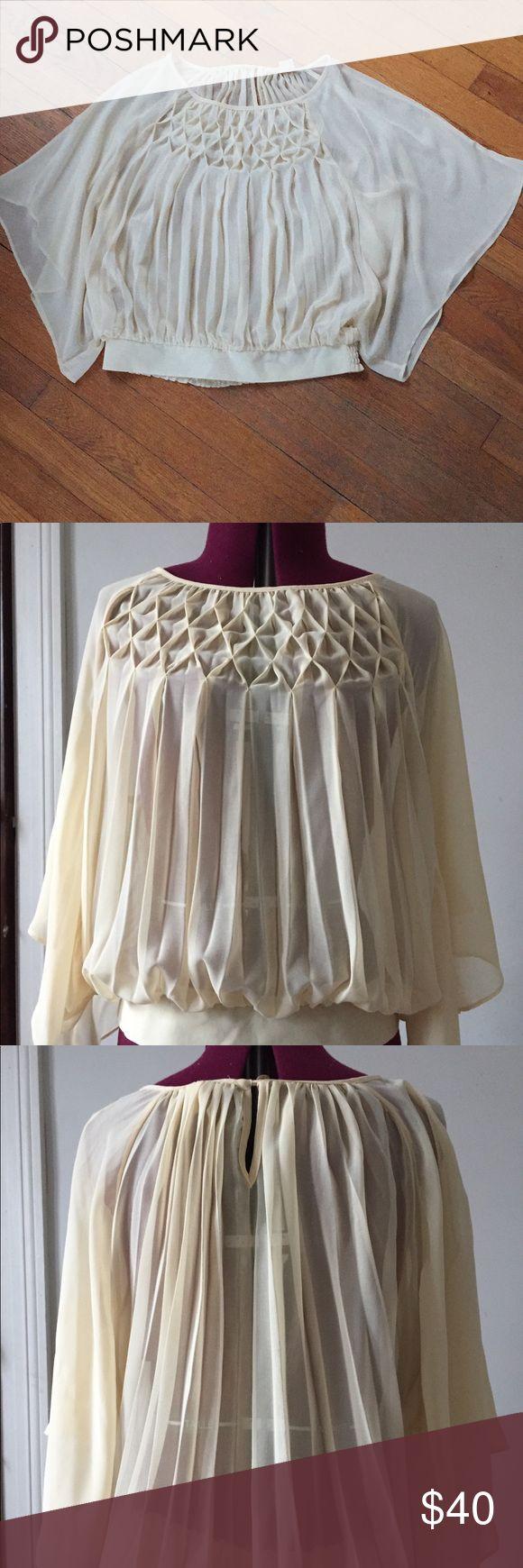 I just added this listing on Poshmark: Anthropologie sheer blouse with kimono sleeves. #shopmycloset #poshmark #fashion #shopping #style #forsale #Anthropologie #Tops