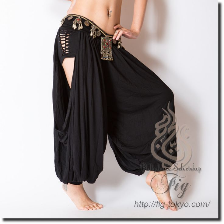 MiyaMiya Krishna pants [all three colors] (rp026) | MiyaMiya [pants] ☆ | | belly dance costume mail order Fig