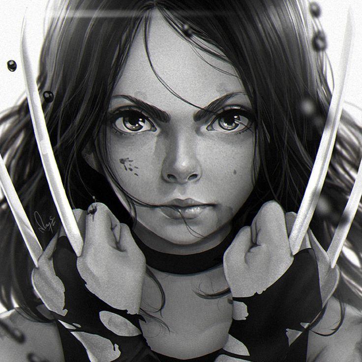 X-23 Laura, Magion 02 https://www.artstation.com/artwork/ZB0o0