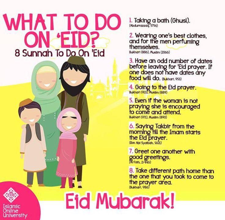 Eid sunnah. Eid mubarik =]