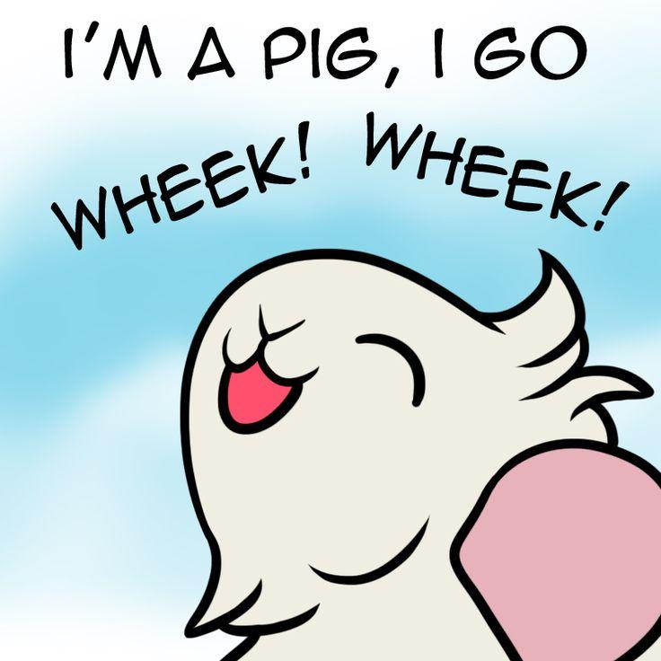 """Guinea Pigs - """"I'm a pig, I go WHEEK! WHEEK!"""""""